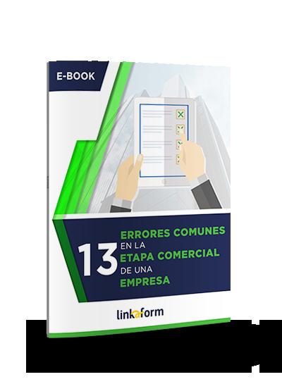 Icono ebook errores comunes en la etapa comercial de una empresa